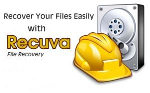 Recuva Data Recovery Software For Windows 7/8/10