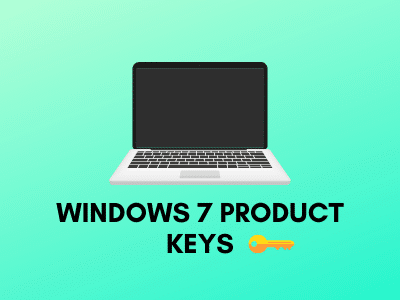 Windows 7 With Product Key And Activator
